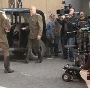 Съемка фильма «Покушение». Камера Red One.