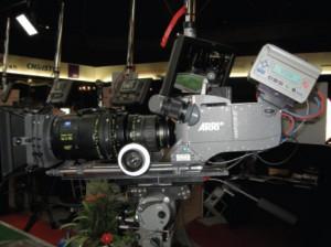 Arri D-21 c рекордером FlashMag в Производственно-студийной деревне на IBC 2009